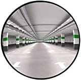 mirror Außenverkehr Weitwinkelobjektiv, Konvexspiegel, unzerbrechlicher Totwinkelspiegel , Für Auffahrt, Garagen- und Lagersicherheit Panoramaspiegel für Laden- und Bürosicherheitsspiegel, Beobachtun
