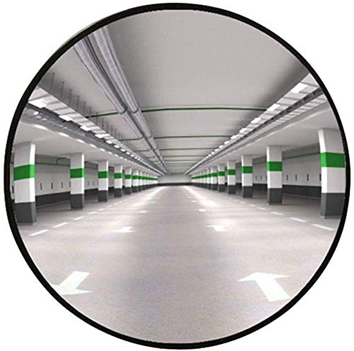 HQY Weitwinkelobjektiv für den Außenverkehr, konvexer Spiegel, für Auffahrt, Garagen- und Lagersicherheit oder für die Sicherheit von Geschäften und Büros, unzerbrechlich , Beobachtungsspiegel , Der