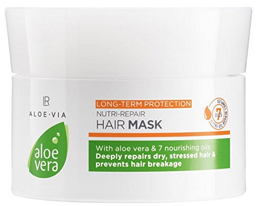 LR Aloe Via - Mascarilla para el cabello Aloe Vera Nutri-Repair, 200 ml