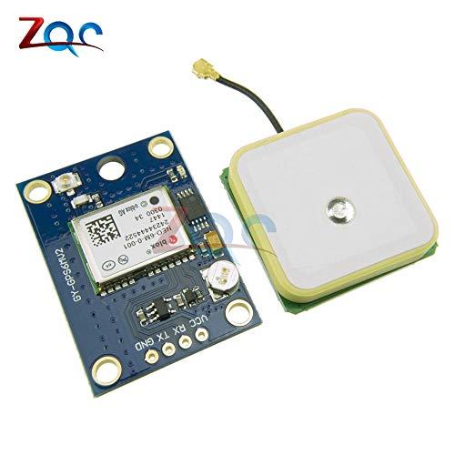 3V-5V uBlox NEO-6M GPS-Modul GY-GPS6MV2 NEO6MV2 BUIT-in EEPROM APM 2.5 Antenne RS232 TTL-Platine für Arduino FlugSteuerung