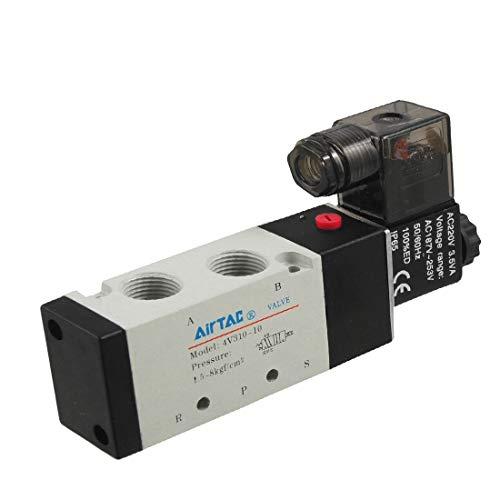 New Lon0167 AC 220V Vorgestellt 5 Anschlüsse 2 zuverlässige Wirksamkeit Position internes gesteuertes Ventil(id:ba0 d8 4a 449)