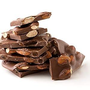 【クール便】西内花月堂 割れチョコ ミルクチョコレート (ごろごろアーモンド 1kg)