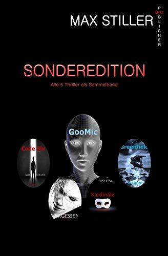 SONDEREDITION ... Vergessen + Kardinäle weinen nicht + Code Six + Greenfield + GooMic: Alle 5 Thriller als Sammelband