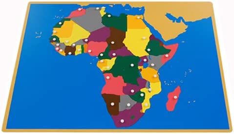 Montessori Max 77% OFF Africa Puzzle Map Control maps Without 25% OFF