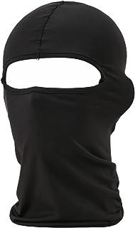 Balaclava Lycra Fabrics Ski Face Mask Tactical Motorcycle Cycling Bike Bandana Hiking Skateboard Balaclava Black