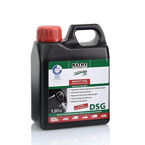 MATHY-DSG Additiv für Direktschalt und Doppelkupplungsgetriebe zum Schutz vor Verschleiß und Vorbeugung von Getriebeschäden 1 Liter