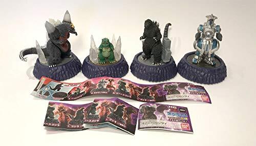 Bandai HG D+ Godzilla Vol. 4 Set Mini-Figuren, Space Godzilla, Godzilla 1994