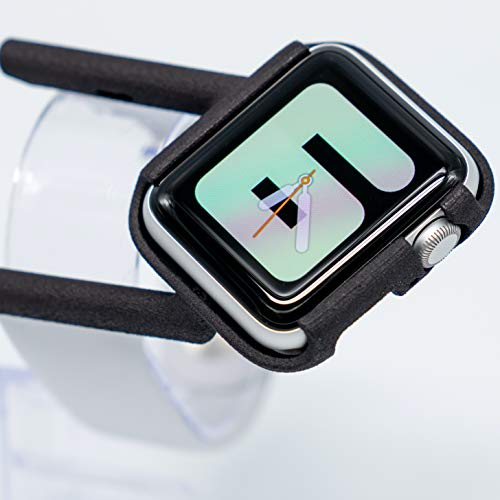 TILT Apple Watch Case - Tilted Apple Watch Band - Compatible With Apple Watch - Black - Apple Watch Case For Cycling, Hiking, Driving, Gaming & More - Comfortable Ergonomic Case For Your Apple Watch