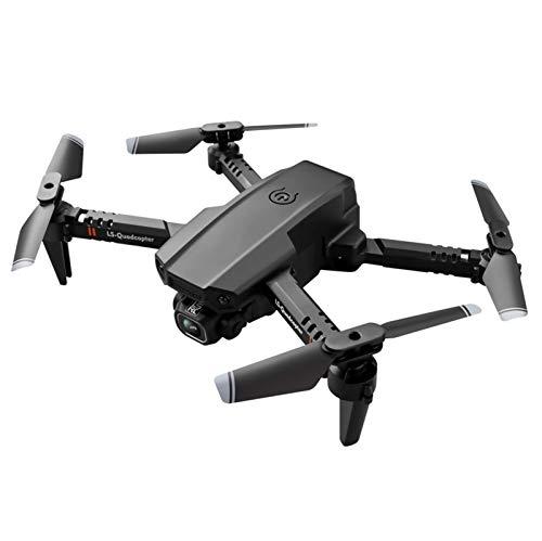 ZHCJH Dron con cámara para Adultos, Mini WiFi1080P 4K HD Dron con cámara Dual con giroscopio de 6 Ejes, Cuadricóptero RC Plegable con Control de altitud, Modo sin Cabeza, Despegue/Aterrizaje con una