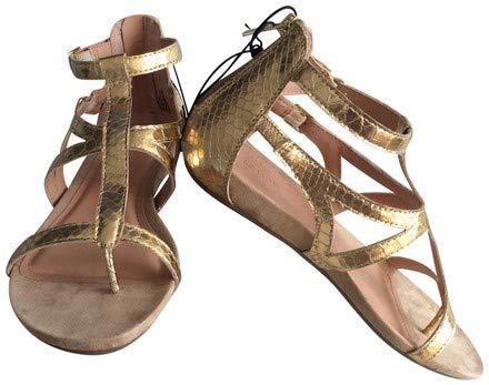 Kenneth Cole Reaction Gladiator Sandals (7, Light Gold)