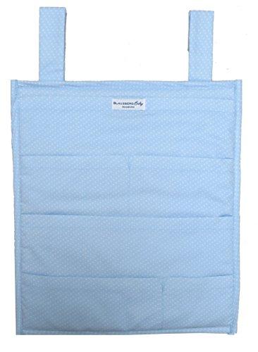 Blausberg Baby - Utensilo pour Stokke Tripp Trapp chaise haute - bleu clair petits pois