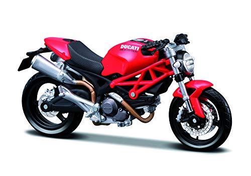 Maisto - 1:12 Collezione Moto Ducati, Colori assortiti, 1 pezzo