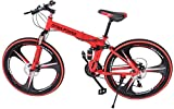 Best Foldable Bikes - Folding Mountain Bike 26in 21 Speed Bicycle Full Review