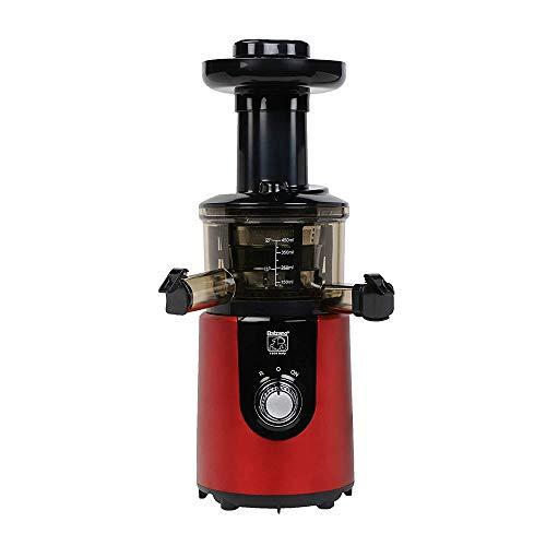 Balzano ZZJ827M 180-Watt Cold Press Slow Juicer (Red)