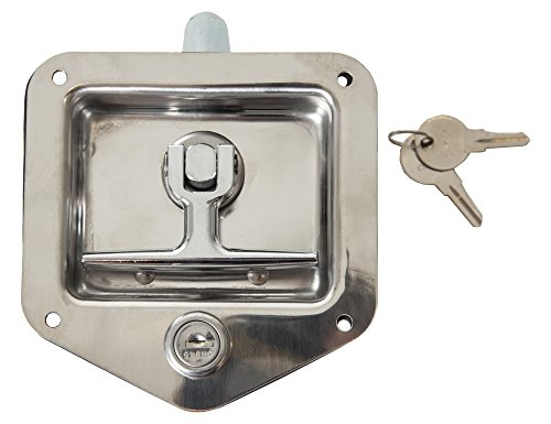 Buyers Products L8815 T-Handle Latch (Latch,T-Handle,SST,SGL Pt W/Gskt & Ch545)