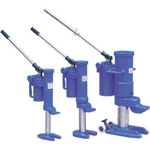 Planeta K00021 Maschinenheber, TYP HM-5, Tragfähigkeit 5 t, Hubhöhe der Klaue 25 - 230 mm, Hubhöhe des Kopfes 368 - 573 mm, Gewicht 25 kg