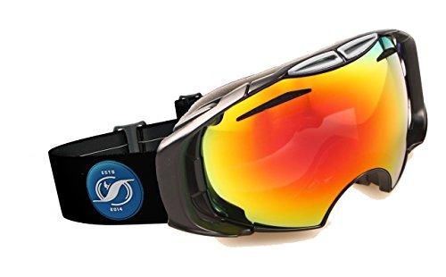 HYSTERESIS - Gafas De Esquí De Lentes Intercambiambles Original (2 Lentes Incluidas)