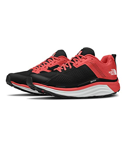 The North Face Vectiv Enduris - Zapatillas de running para mujer, rojo (Fiesta Red/TNF Black), 38.5 EU