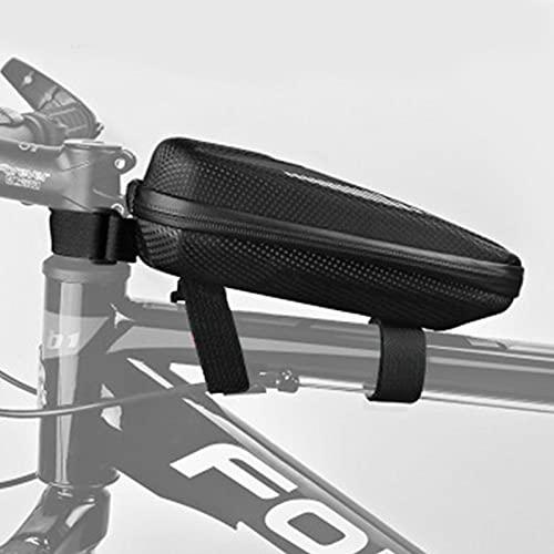 Fiets-frametas, waterdichte fiets-bovenbuis-tas voorwiel-telefoontas, fiets-opbergtas voorframetas