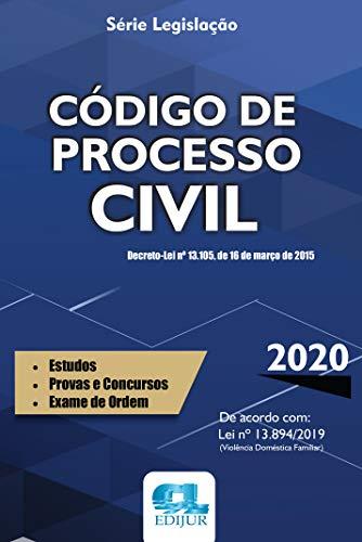 Código De Processo Civil - Série Legislação 2020