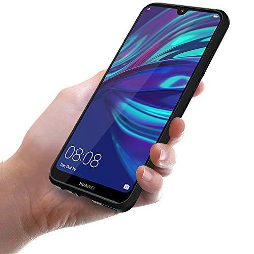 Ferilinso Hülle für Huawei Y7 Prime 2019/ Huawei Y7 Pro 2019/ Huawei Y7 2019, Flexible stoßfeste Schutzhülle für Huawei Y7 Prime 2019/ Huawei Y7 Pro 2019/ Huawei Y7 2019 Hülle (Schwarz) - 6