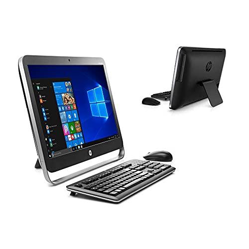 PC Computer Desktop Fisso AIO All In One HP 400 G1 22' FHD 1080P WiFi Bluetooth Seriale RS232 Mouse e Tastiera wireless Windows 10 Aziendale Ufficio Casa (Ricondizionato) (4GB RAM SSD 120GB)