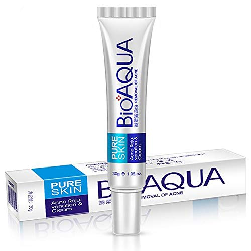 BIOAQUA Anti Acne Scar Mark Remover Removal Oil Control Shrink Pores Cream 30g