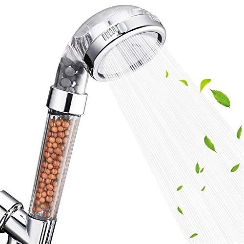 Handheld Showers Handbrause Hochdruckwasserspar Große Plattenfilter Duschkopf Anion SPA Handbrause Kopf ABS-Kunststoff