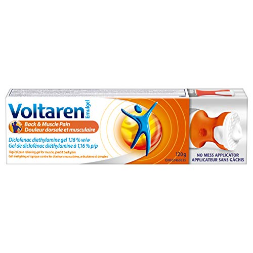 Voltaren Emulgel Back & Muscle Pain with a No Mess Applicator 120g