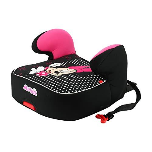 Rialzo per seggiolino per bambini NANIA DREAM EASYFIX gruppo 3 (22-36kg) - produzione francese 100% - protezioni laterali - Disney Luxe Minnie