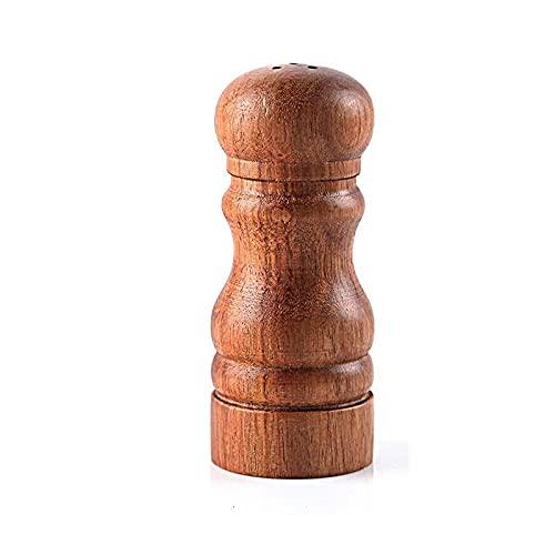 Yuxahiugxlg 1pc de salidas de madera y pimienta para cocinas con agujeros, todo en uno