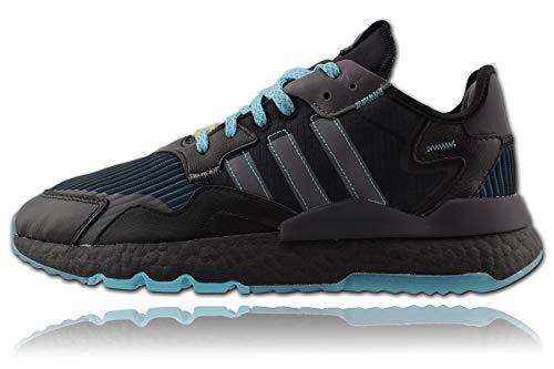 Adidas Ninja Nite Jogger - Chándal para hombre, color negro y gris,...
