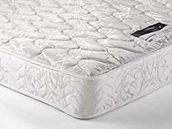 Comfort Rating Comfort Rating: 5 is the level of filling comfort achieved by laying on the mattress. This is not a firmness rating.Micro Quilted A finish to the mattress created by stitching together the fabric and fillings, creating a patterned com...