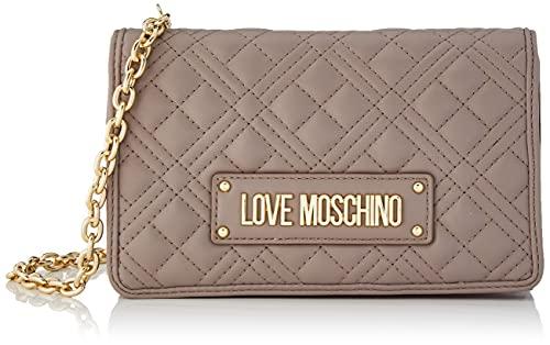 Love Moschino, Bolso de hombro para mujer, colección Otoño Invierno 2021, blanco, U