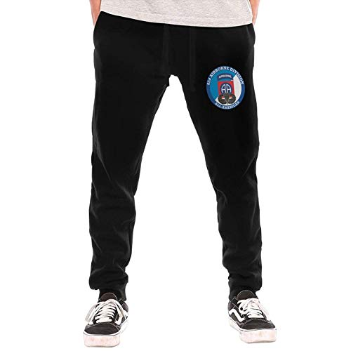 Axige888 Us Army 82nd Airborne Jump Wings - Pantalones largos para hombre