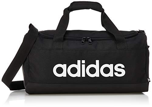Adidas GN2034 Linear Duffel S Gym Bag Unisex-Adult Black/White NS