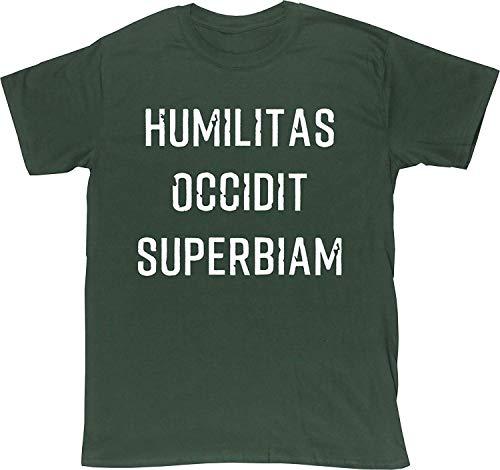 HuiFengDianDang Humilitas Occidit Superbiam Men's Short Sleeve t-Shirt