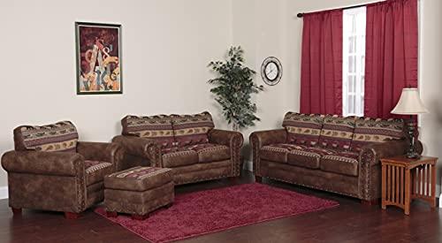 American Furniture Classics 4-Piece Sierra Lodge Sleeper Sofa