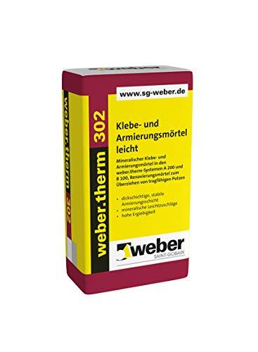 Weber.therm 302 Klebe- und Armierungsmörtel Klebemörtel Armierungsmörtel Armierungskleber Fassadenkleber Dämmstoffkleber