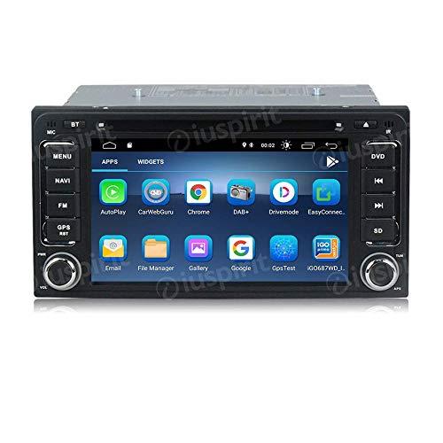 ANDROID 10 GPS DVD USB SD WI-FI Bluetooth autoradio 2 DIN navigatore Toyota Rav4 Corolla Alphard Previa Fortuner Innova Camry Land Cruiser Hilux Vios Tundra Terios 4Runner Sequoia