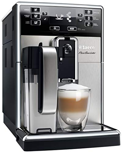 Saeco HD8927/47 PicoBaristo Super Automatic Espresso Machine Stainless Steel (Renewed)