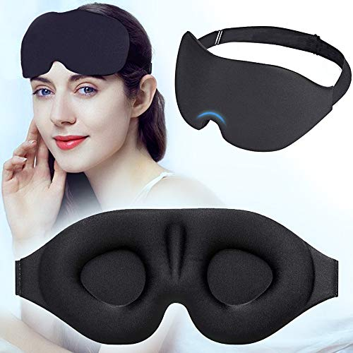 アイマスク 安眠 遮光 睡眠 立体型 フィット感抜群 圧迫感なし 付け心地良い 眼精疲労の軽減 旅行/昼寝/仮眠に最適 繰り返し 男女兼用