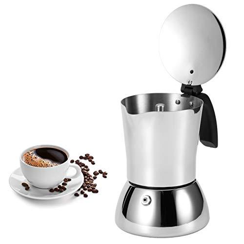 Da Dini Cafetera De Café 304 Cafetera De Acero Inoxidable Mocha Pot Extracción Hervidor De Extracción para El Hogar Uso De La Cafetería