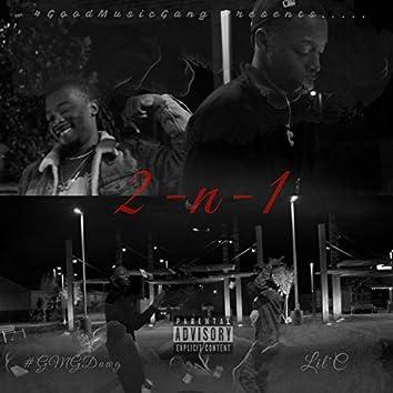 2 N 1 (feat. Lil'c)