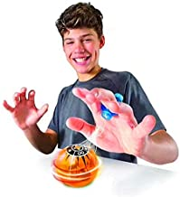 toy balls - Fidget spinner Magic Speed induction Magneto Spheres Magnetic Flashing Glowing Ball Spinner Toys Stress Reducer Christmas gifts (ORANGE)