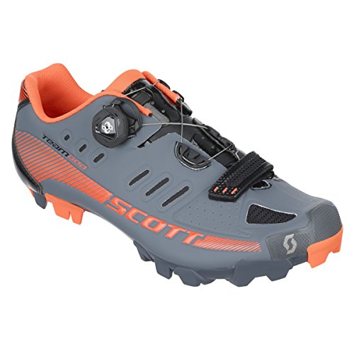 Scott Sporty Men's Team Boa Mountain Cycling Shoe – 238882–5131 - Gray/Black Gloss, 42