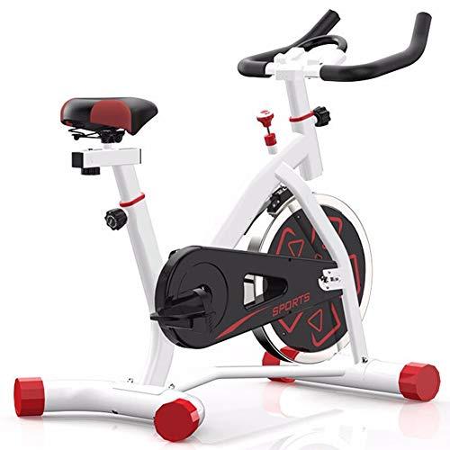 HLEZ Aerobic Indoor Training Heimtrainer, Ganzkörper-Cardio-Workout grenzenloser Widerstand leistungsstarker Antriebsriemen Intervalltraining Max. Benutzer 136 kg,Weiß