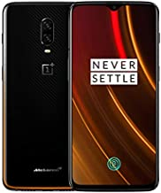 OnePlus 6T A6013 McLaren Edition 256GB Storage + 10GB Memory Factory Unlocked 6.41 inch AMOLED Display Android 9 - Carbon Fiber Black US Version