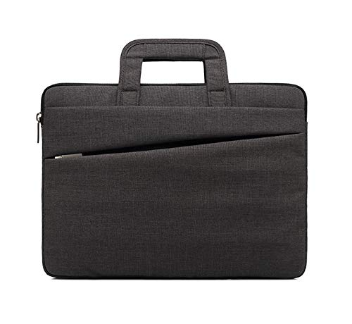 14-15.6 Inch Laptop Sleeve Case Bag with Handle Waterproof Briefcase Compatible?Black? (B,14 Inch)