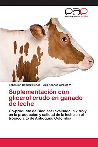 Suplementación con glicerol crudo en ganado de leche